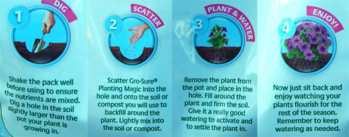 How to use Gro-Sure Planting Magic