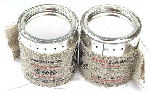 Munio Candela Soy Wax Candle from MyPure