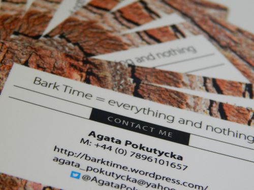 my business cards from StressFreePrint.co.uk