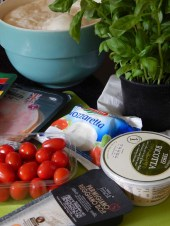 #UniformFoodies Challenge – Salad in a Bun a.k.a. Calzone -Ingredients for the filling