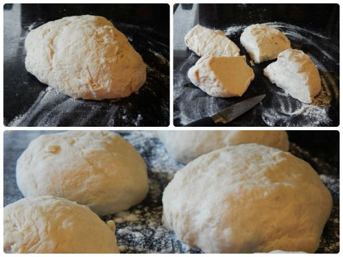 #UniformFoodies Challenge – Salad in a Bun a.k.a. Calzone - The Dough