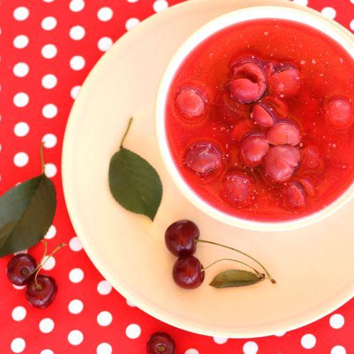 Chilled Sour Cherry Soup fron Nori