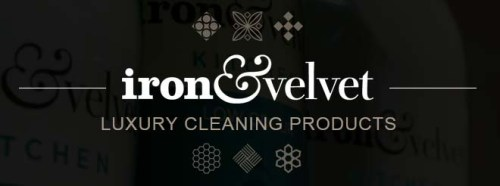 iron & velvet – Luxury Cleaning Products Logo