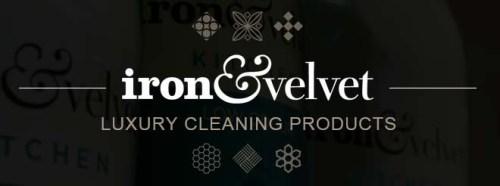 iron & velvet – Luxury Cleaning Products Logo