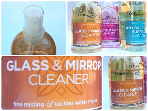 iron & velvet Glass and Mirror Cleaner