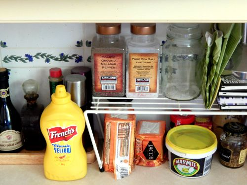 Kitchen Storage Solutions – Cupboard Organizer – Raised Shelves