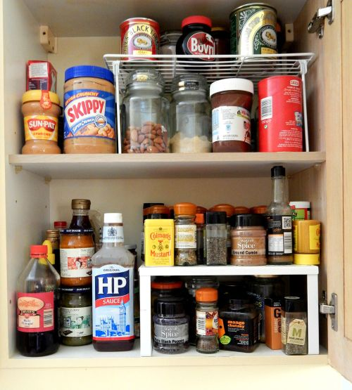 Kitchen Storage Solutions – Cupboard Organizer – Raised