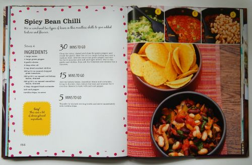 Parragon Books On the table in 30 One Pot Spicy Bean Chilli Recipe