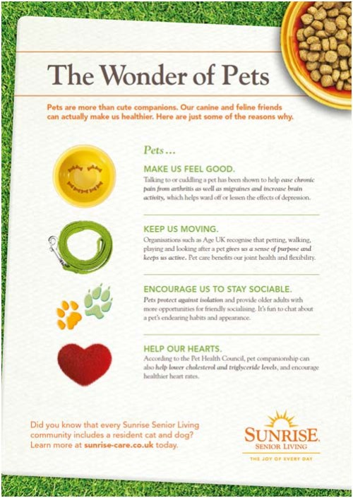 The Wonder of Pet by Sunrise Senior Living