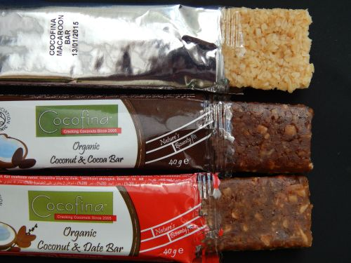 Cocofina – The real taste of coconuts - bars
