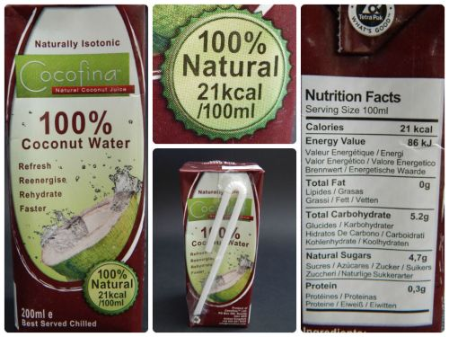 Cocofina – The real taste of coconuts - coconut water