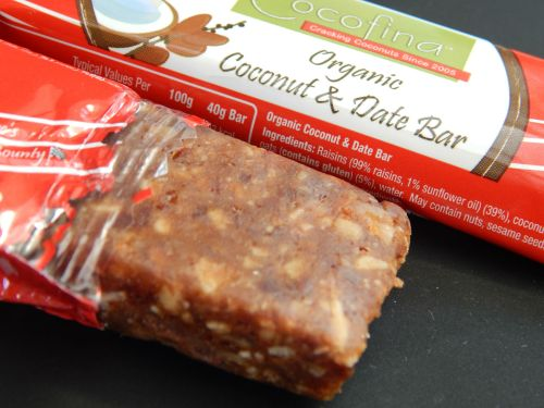 Cocofina – The real taste of coconuts - date bar