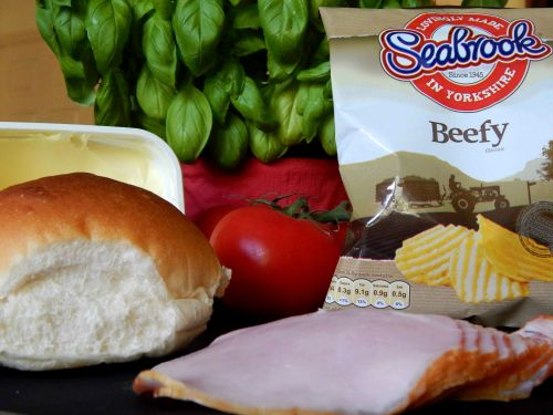 Ingredients for The Ultimate Crisp Sarnie #crispsarnieweek