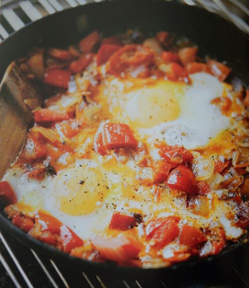 """Parragon Book Buddy – """"The Camping Cookbook""""  Spicy Fried Eggs"""