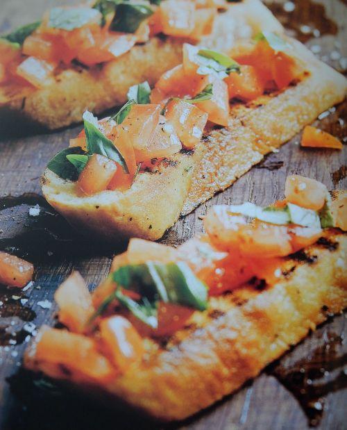 "Parragon Book Buddy – ""The Camping Cookbook""  Tomato Bruschetta"
