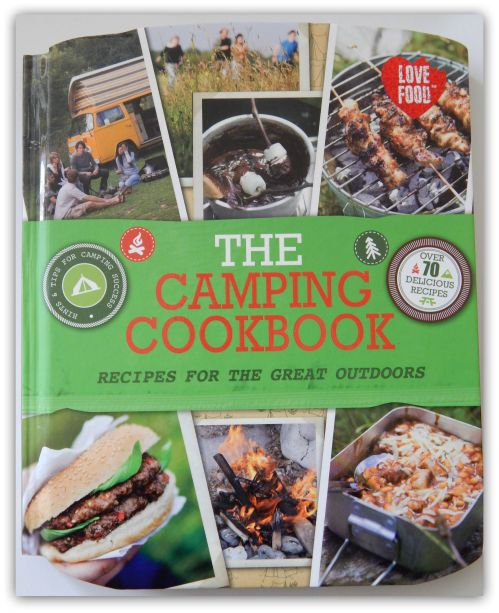 """Parragon Book Buddy -- """"The Camping Cookbook"""""""