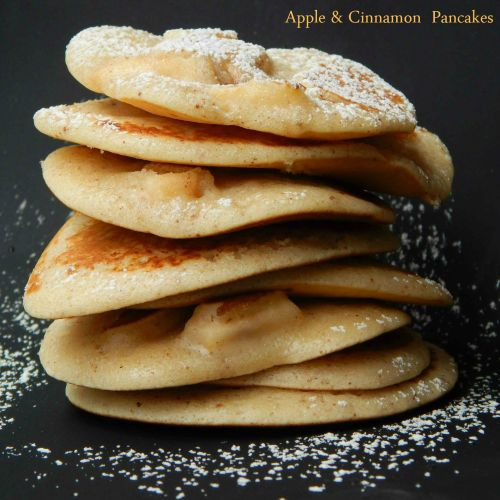 Regis Stone Non-Stick Breakfast Challenge – Apple and Cinnamon Pancakes