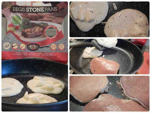 Regis Stone Non-Stick Breakfast Challenge – Apple & Cinnamon Pancakes