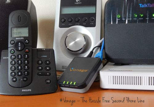 Vonage The Hassle Free Second Phone Line