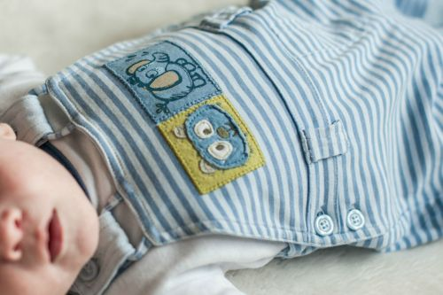 3. Baby #ootd – Comfy Dungarees