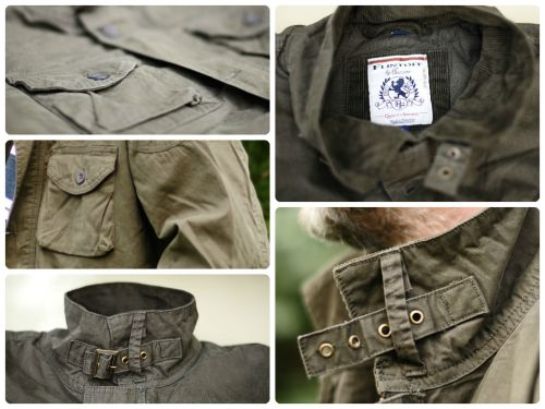 Flintoff by Jacamo Military Jacket.