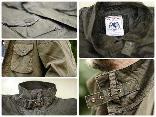 Flintoff by Jacamo Military Jacket.