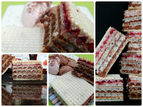 What's Cooking – Chocolate and Jam Wafers!