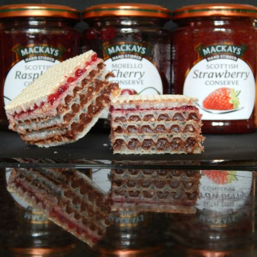 What's Cooking – Chocolate and Mackays Jam Wafers
