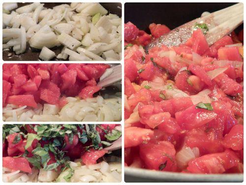 4. Fresh Tomato Soup with Crispy Pork Bits and Wild Rice