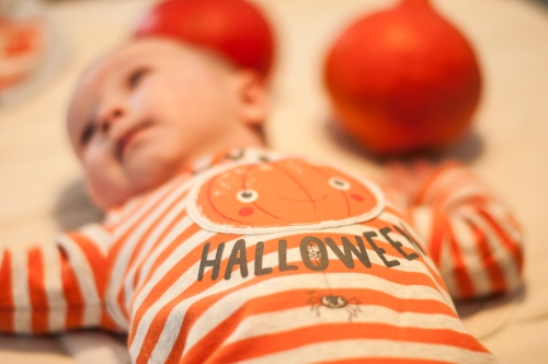 5. Baby #ootd – My First Halloween