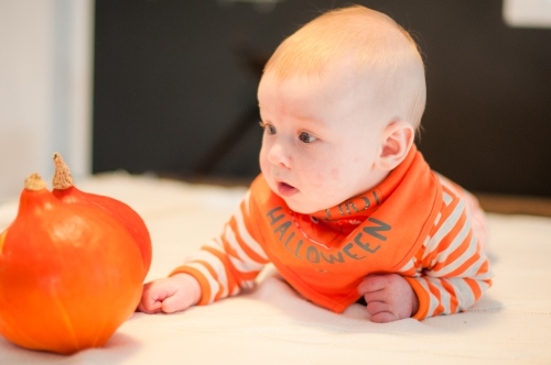 6. Baby #ootd – My First Halloween