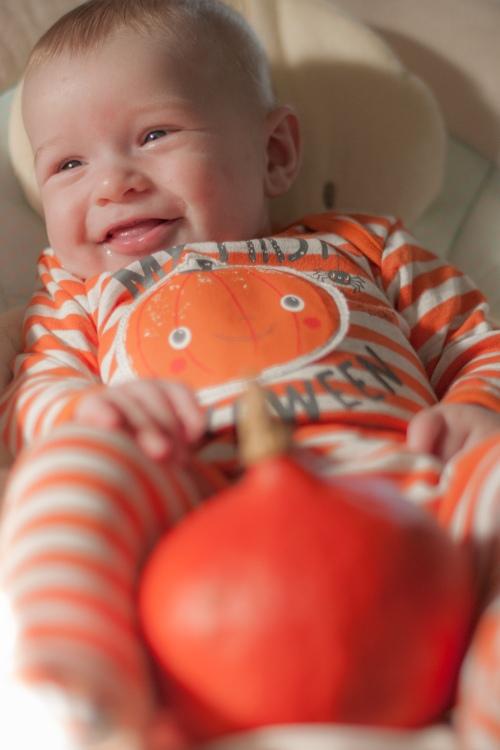 8. Baby #ootd – My First Halloween