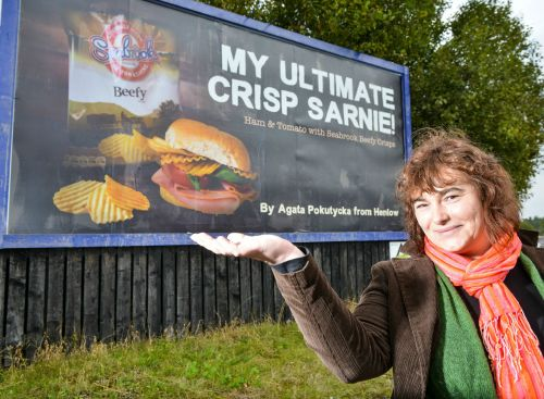 My 15 minutes of fame with Seabrook Crisps