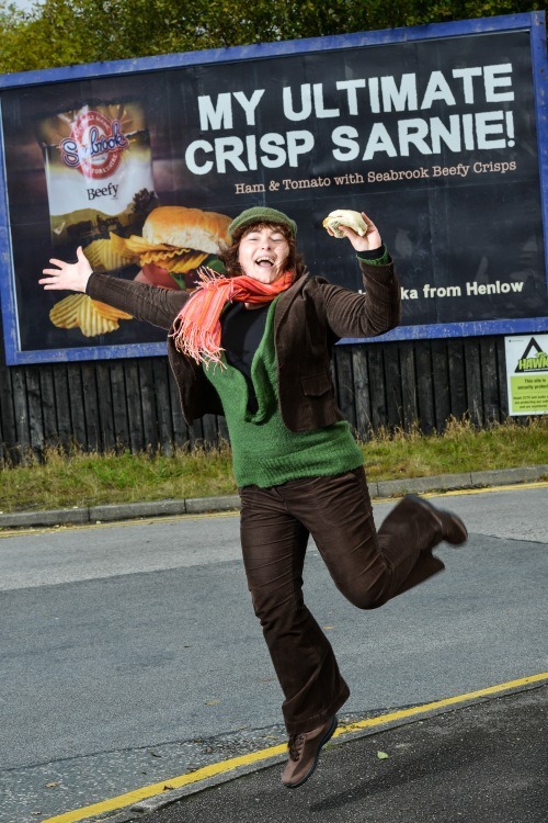 My 15 minutes of fame with Seabrook Crisps ...
