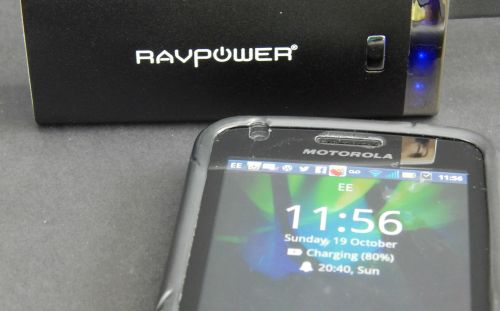 RAVPower Luster 6000mAh External Battery –- Review and Giveaway