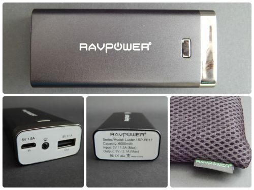 RAVPower Luster 6000mAh External Battery -- Review and Giveaway