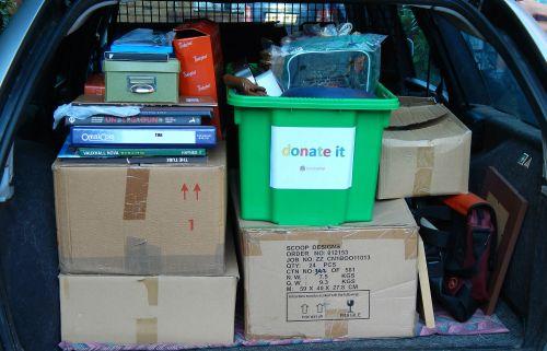 The 4-Box Challenge Donate It Trip