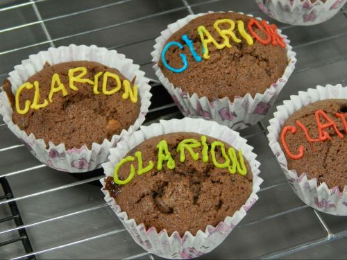 hmm I wonder who baked these ones... :-)