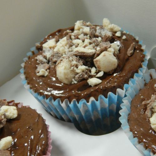 Oreo & Malteser Cupcakes baked by Amy from She Cooks She Eats
