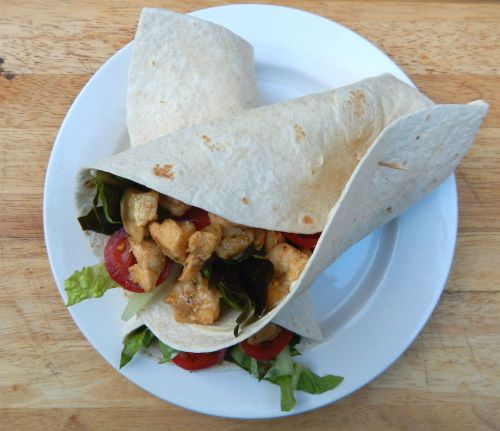 What's Cooking - Quick and Easy Chicken Wraps