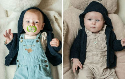 Baby #ootd – Beige or Blue