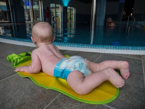 Baby #ootd  Little Swimmer