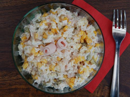 Chicken and Rice Salad - Cherry Tree Farm