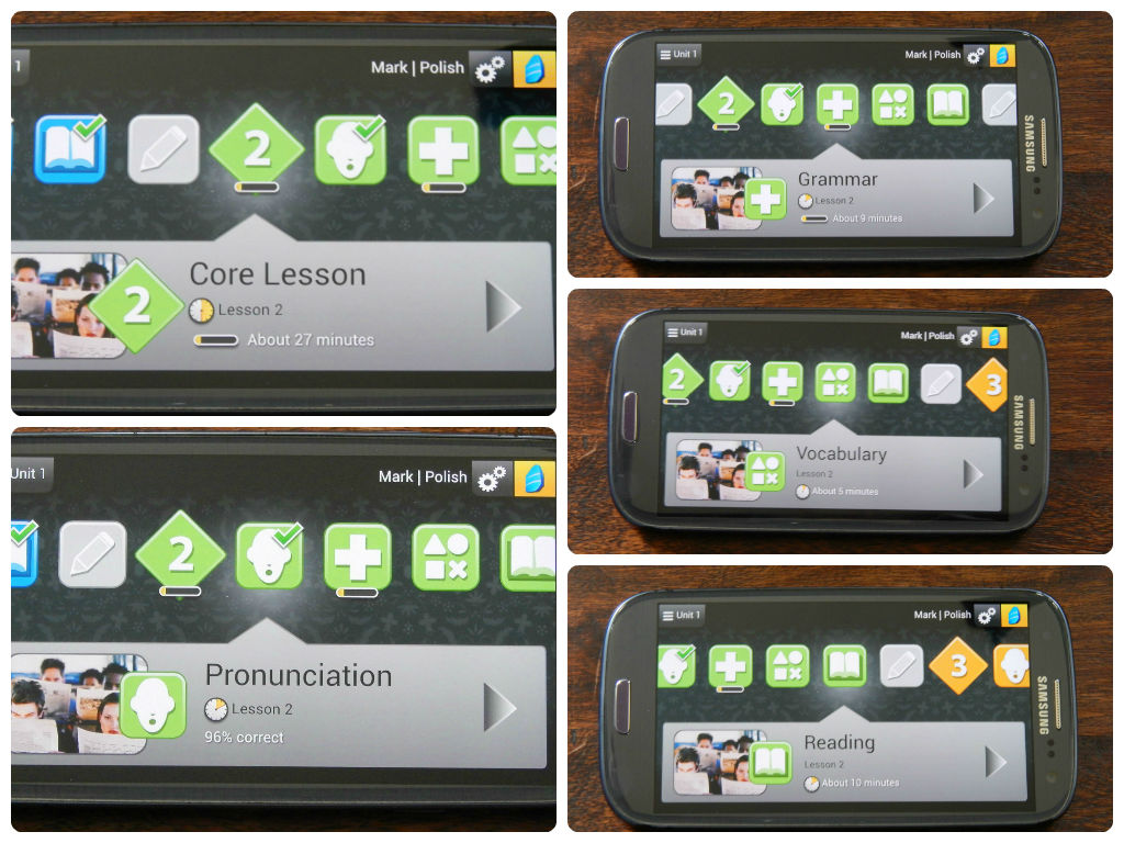 Learning a new language with the Rosetta Stone Mobile App