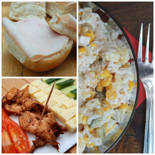 My Three Quick Lunches with Cherry Tree Farm