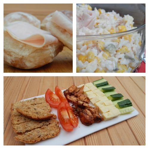 Three Quick Lunches with Cherry Tree Farm