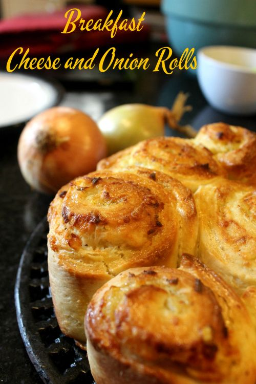 What's Cooking – Breakfast Cheese and Onion Rolls