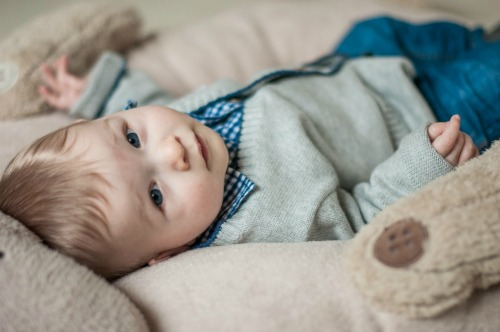 1. Baby #ootd – Ready for Christmas dinner