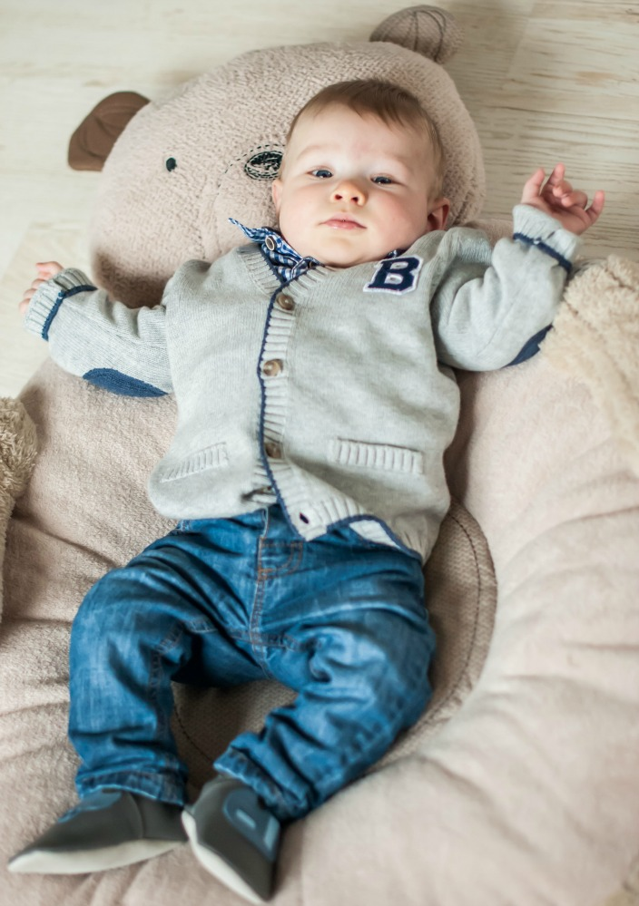 Baby Time Capsule On Pinterest: Baby #ootd – Ready For Christmas Dinner