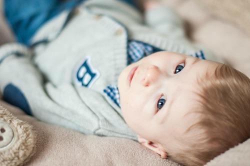 7. Baby #ootd – Ready for Christmas dinner